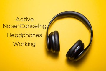 active noise-canceling headphones