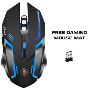 Offbeat RIPJAW Rechargeable Wireless Gaming Mouse