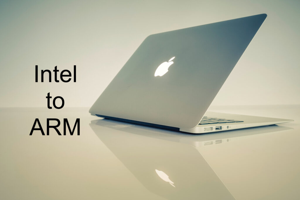 apple switching from intel to arm chipsets