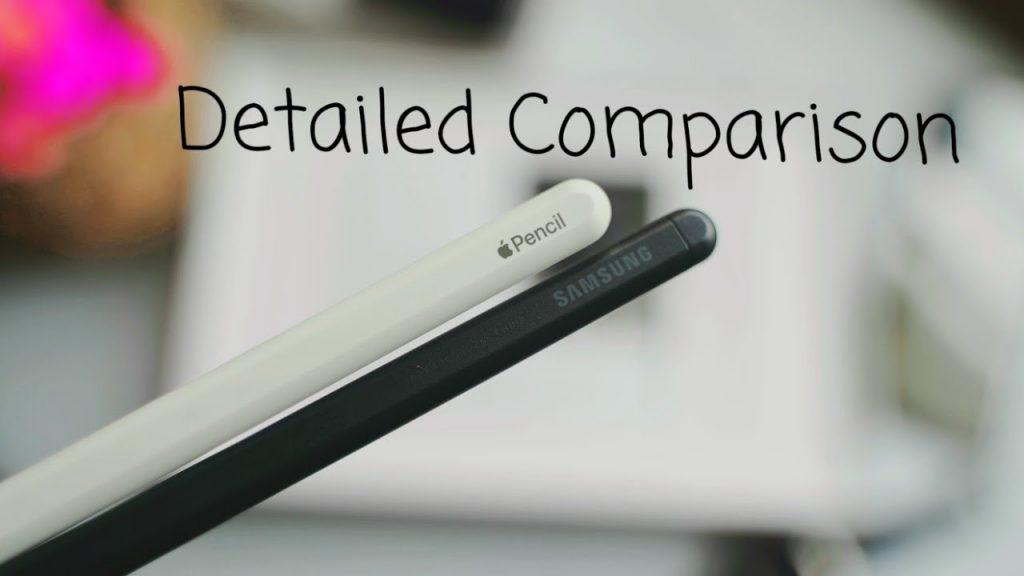 Apple Pencil vs Samsung S Pen comparision