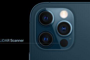 lidar scanner in iphone 12 pro