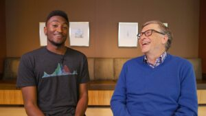 Bill Gates and MKBHD