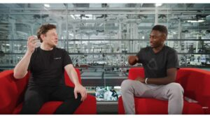 Elon Musk and MKBHD