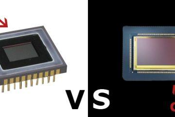 ccd vs cmos image sensor